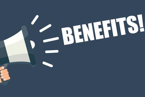 Graphic of benefits