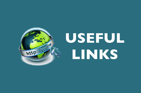 Graphic about useful links