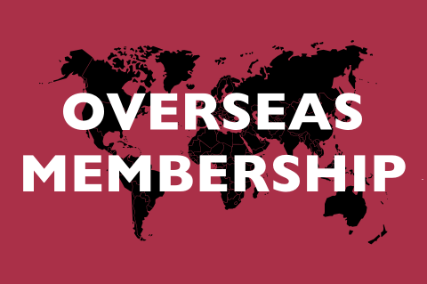 Graphic for overseas membership