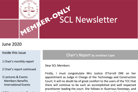 Graphic of SCL Newsletter